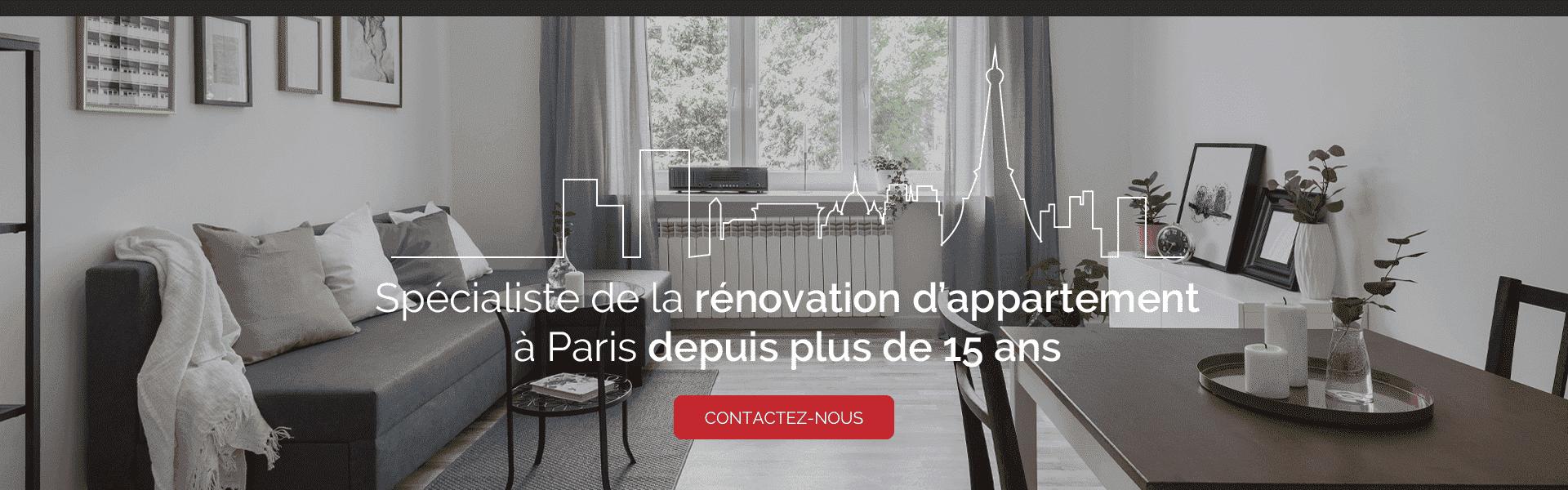 Renovation D Interieur Paris entreprise générale de rénovation d'appartement - paris (75)